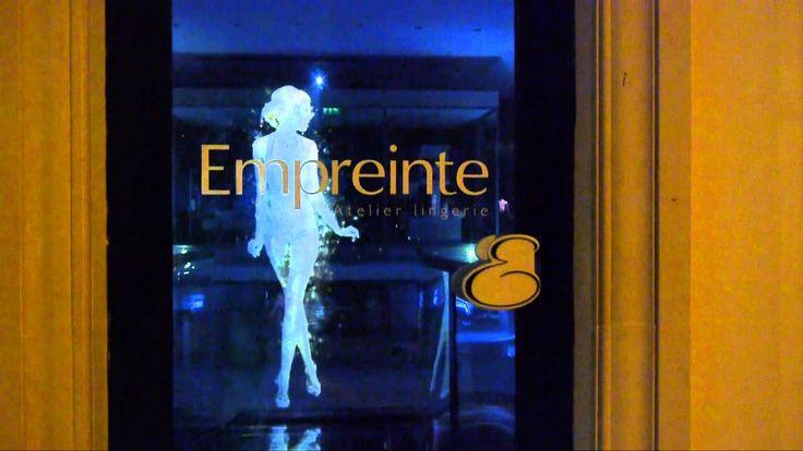 Empreinte, l'Atelier lingerie - Paris - Hologramme