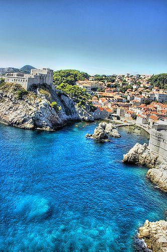 Dubrovnik Blue, Croatia