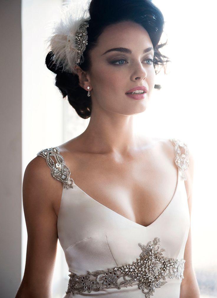 Silk Satin Wedding Dress by Anna Schimmel | New Zealand