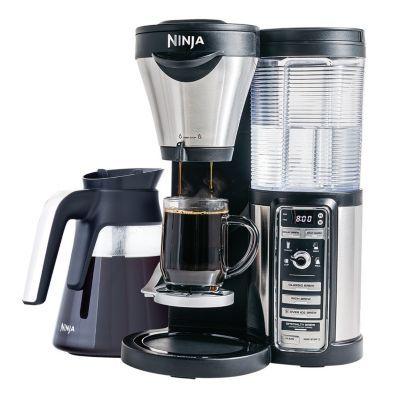Ninja Coffee Bar with Glass Carafe w/ Auto-iQ (CF082)  $20 in Kohls Cash $112  free shipping #LavaHot http://www.lavahotdeals.com/us/cheap/ninja-coffee-bar-glass-carafe-auto-iq-cf082/88649
