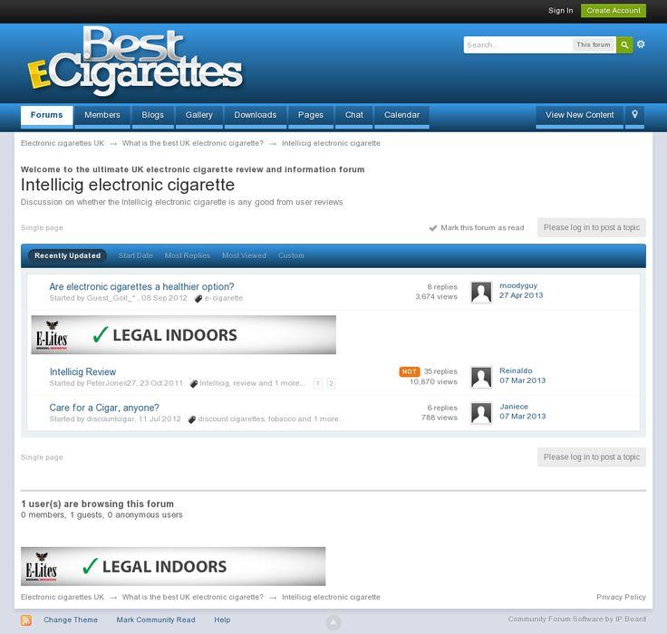Intellicig, Intellicig electronic cigarette --> http://electroniccigaretteukforum.co.uk/index.php?/forum/26-intellicig-electronic-cigarette