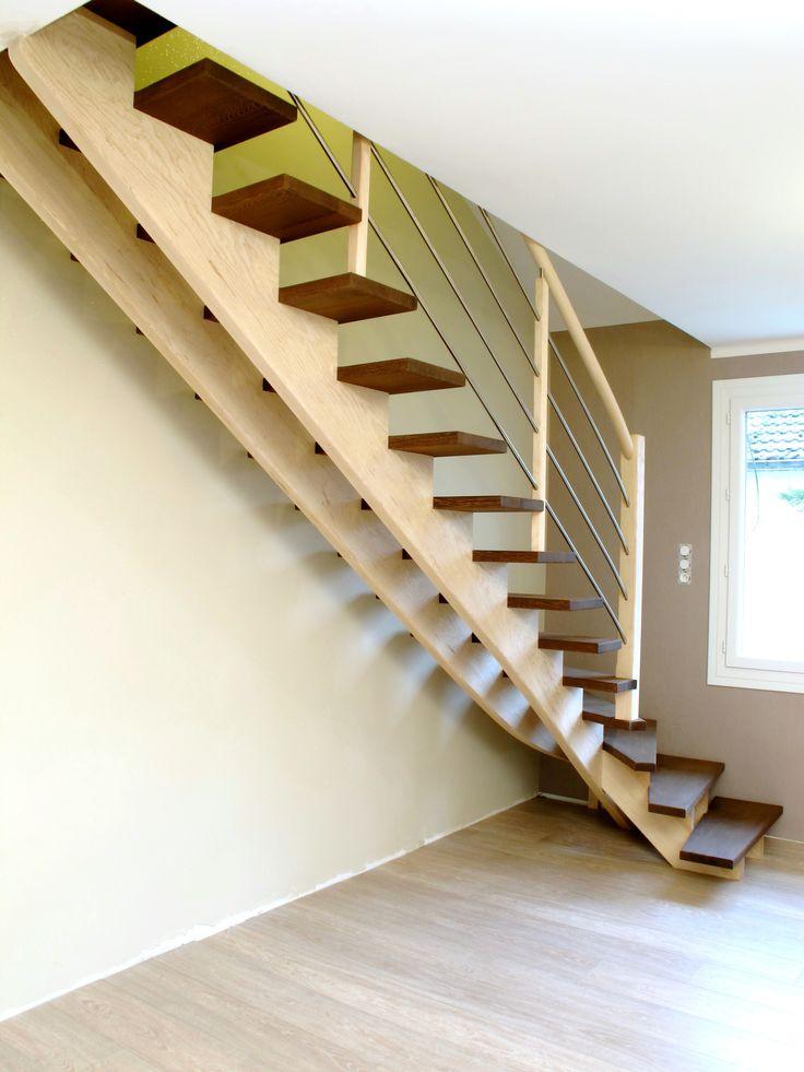 25 beste idee n over escalier quart tournant op pinterest. Black Bedroom Furniture Sets. Home Design Ideas