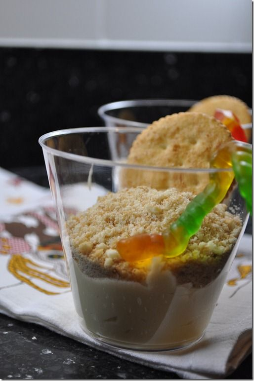 Cowboy Pudding Cups