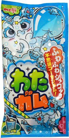 Meiji Wata Gum Ramune $1.00 http://thingsfromjapan.net/meiji-wata-gum-ramune/ #Japanese gum #Japanese snack #ramune