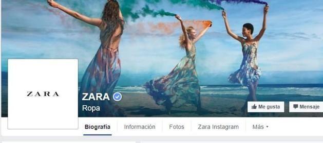Zara marca la moda en #facebook - Contenido seleccionado con la ayuda de http://r4s.to/r4s