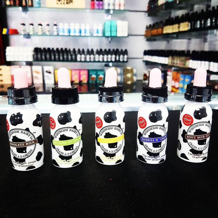 Wisconsin Dairy co e-liquids for all you ice cream Sundae lovers out there 18 for 45ml #vapelyfe #vaping #vape #bringontheclouds #vapeforlife #wisconsin
