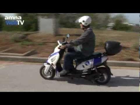Υβριδικό scooter με υδρογόνο