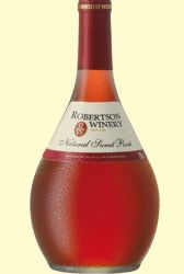 Robertson Winery Natural Sweet Rose - mmmm yum, yum, yum!