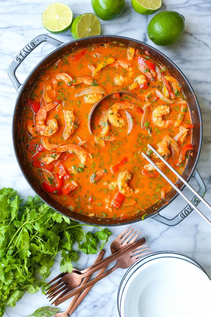 Thailändische Currysuppe