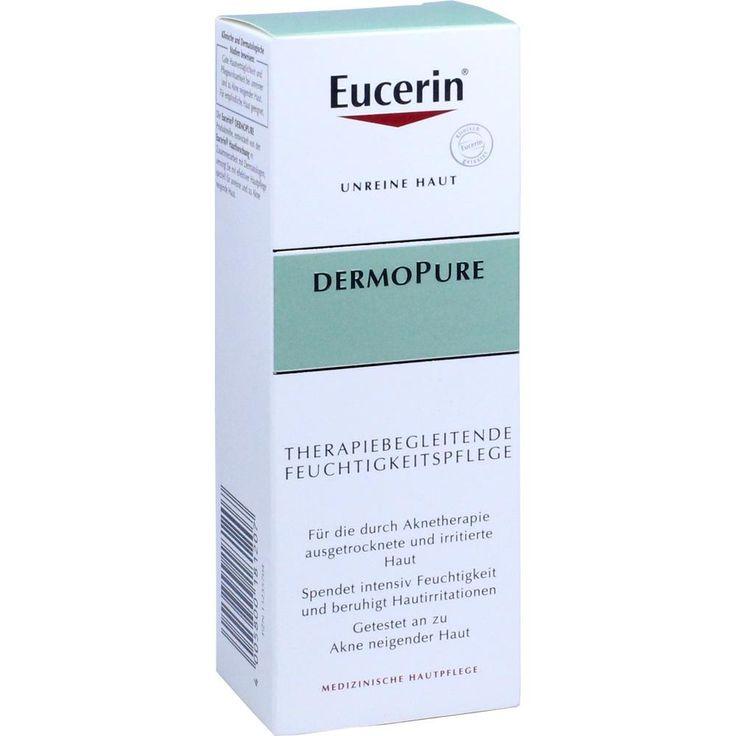 EUCERIN DermoPure therapiebegl.Feuchtigkeitspflege:   Packungsinhalt: 50 ml Creme PZN: 13235704 Hersteller: Beiersdorf AG Eucerin Preis:…