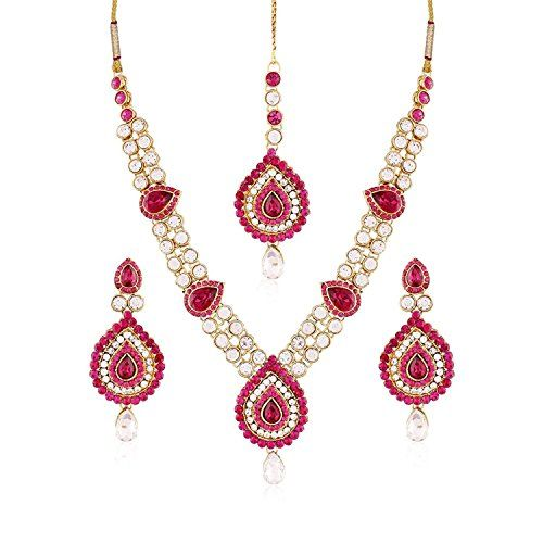 Pink Stone Bollywood Designer Gold Plated Ethnic Dazzling... https://www.amazon.com/dp/B06XTPDG9J/ref=cm_sw_r_pi_dp_x_l2Plzb73C61PJ