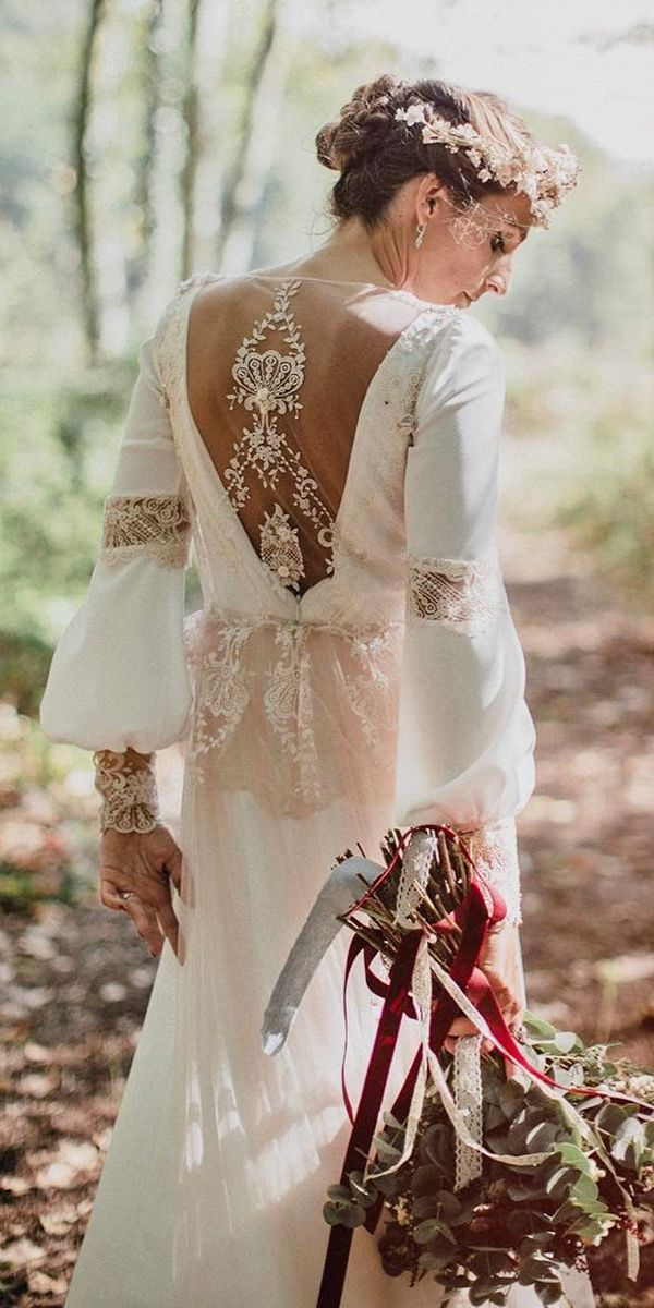 24 Boho Wedding Dresses Of Your Dream