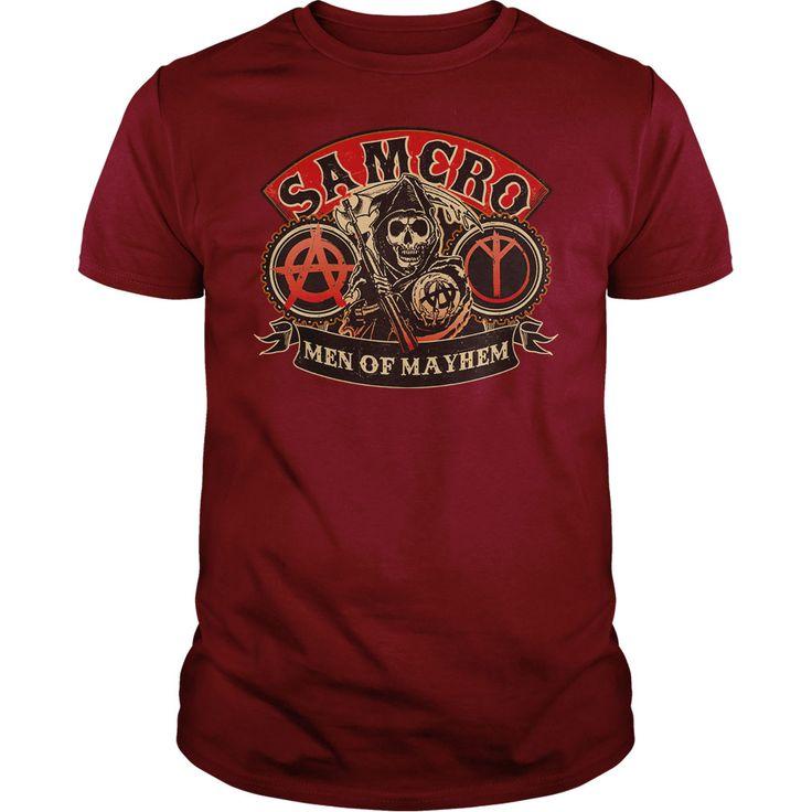 Sons Of Anarchy Men Of Mayhem T Shirt #SonsOfAnarchy #Mayhem #samcro