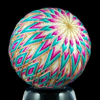 Japanese Temari, includes a tutorial to make these wonderful balls