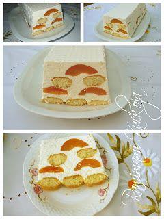 Barackos Túrós torta sütés nélkül ~ Ramimami kuckója