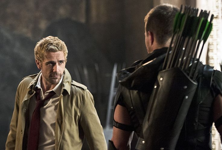 John Constantine returns in new trailer for next weeks Arrow. Watch it here