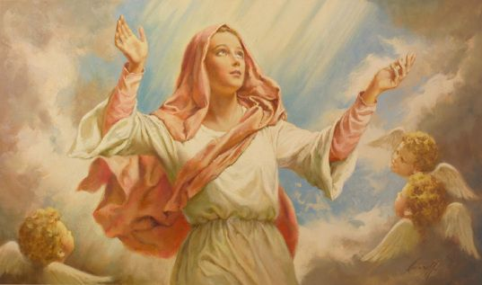 The Assumption of Mary: Quotes and Images | joy of nine9