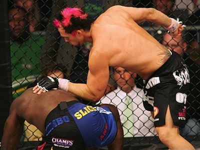 "Do you remember EliteXC? It was a 2006 precurser to the UFC and brought us the ""great"" Kimbo Slice. It also made our list of the 15 Sports Promotions that went Horribly Wrong. See why here!"