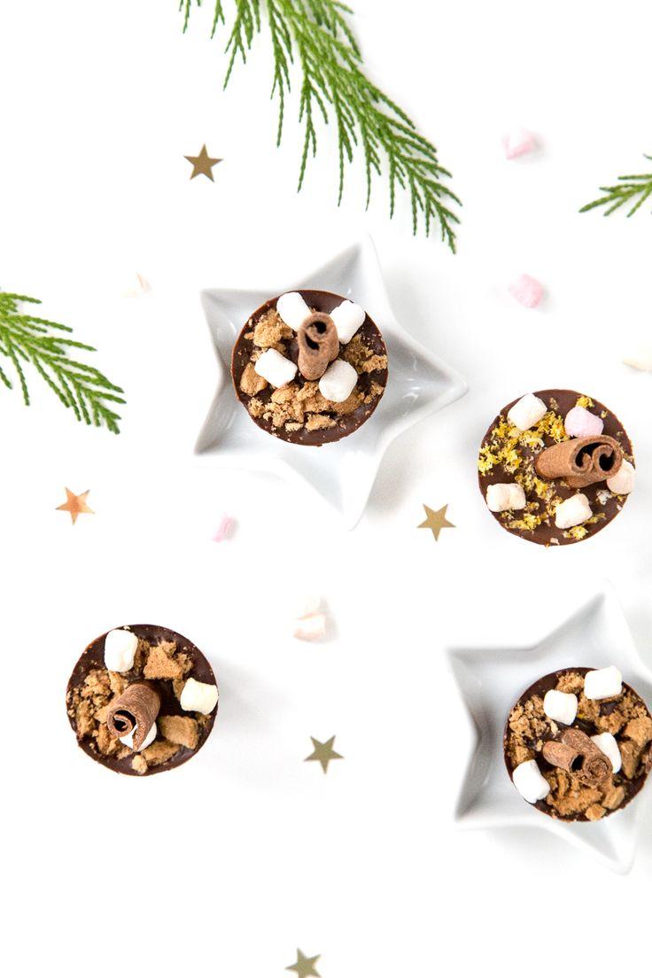 Geschenkidee: DIY Spekulatius-Trinkschokolade am Stiel www.whatmakesmehappy.de