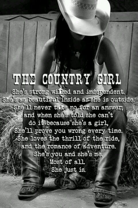 Country Girl Strong | Country Quotes | Pinterest | Country ...