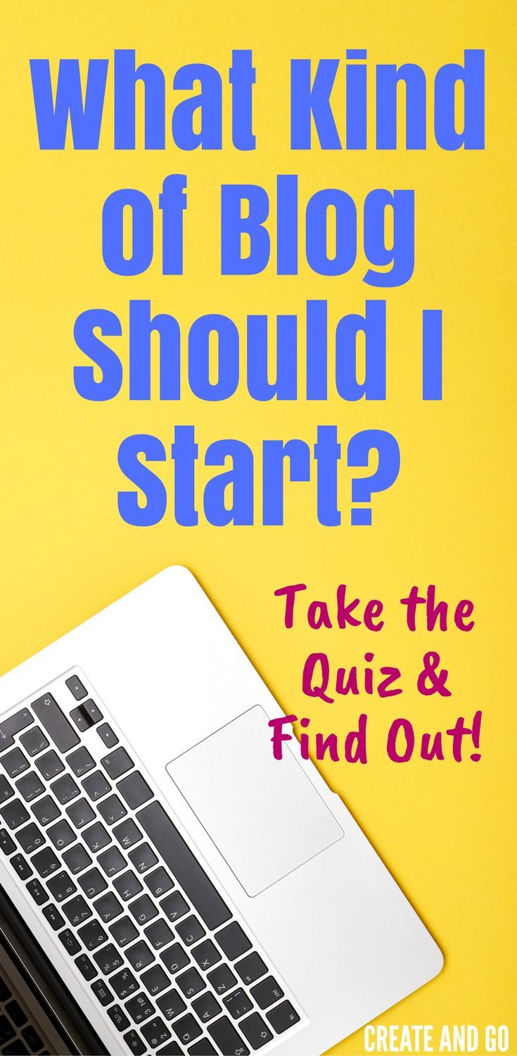 What kind of blog should I start? Take the quiz to find out the best blog style that fits your knowledge, skills, and personality! #startablog