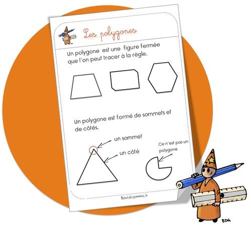 CP-CE1 : Maths: Leçon. Les polygones