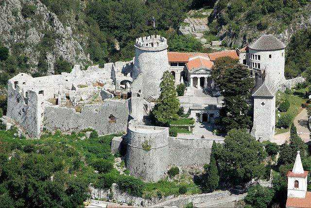 Trsat Castle, Rijeka, Croatia. This place was so freakin awesome!