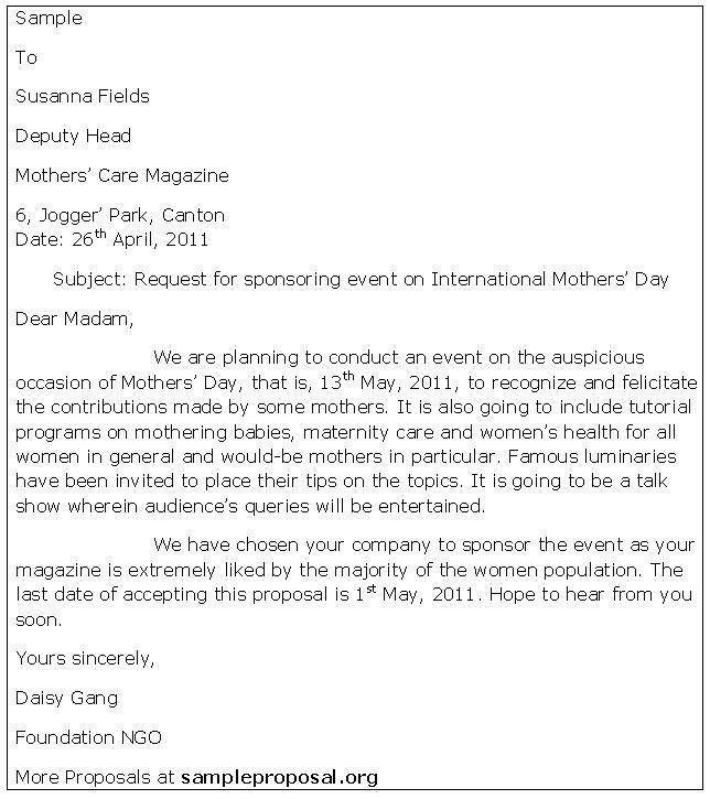 25+ unique Sample proposal letter ideas on Pinterest Proposal - proposal letter