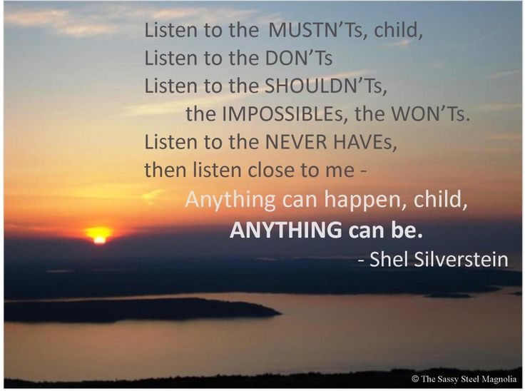 quotes to live by <3Silverstein Quotes, Shel Silversttrein, Shells Silverstein, Shel Silverstien, Image, Living, Shel Silverstein, Shelsilverstein, Magnolias Quotes