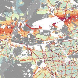 Die interaktive Karte der Berliner Morgenpost zeigt die Lärmpegel an allen…