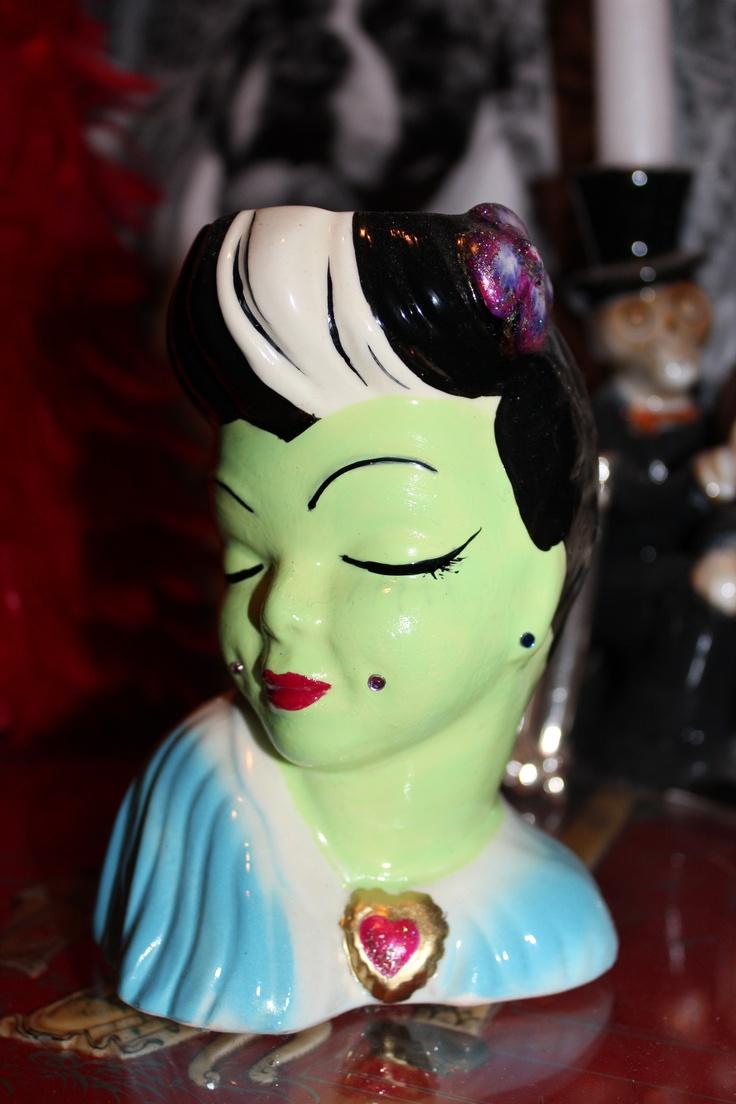 472 best antique head vases images on pinterest vase vintage made over vintage head vase frankies girl reviewsmspy
