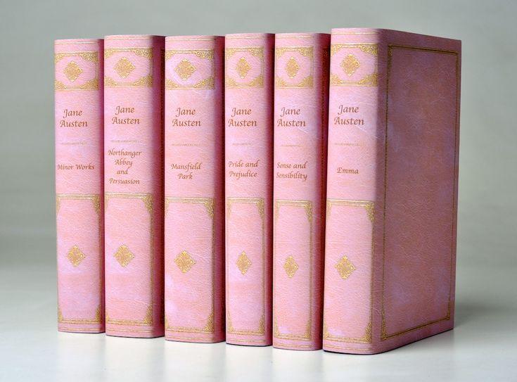 Jane Austen in pink.