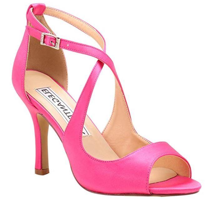 385d3821ba0f5 Duosheng & Elegant HP1820 Women Open Toe Stiletto High Heels Buckle ...