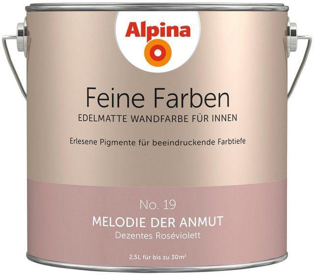 Farbe »Feine Farben Melodie Der Anmut«, 2,5 L In 2020