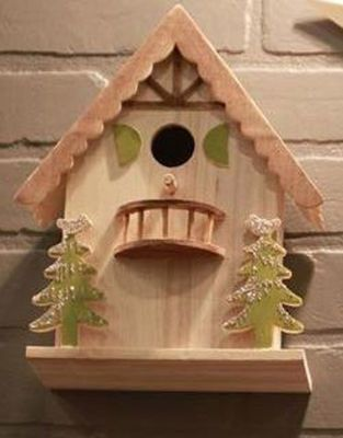 Michaels arts and crafts bird houses