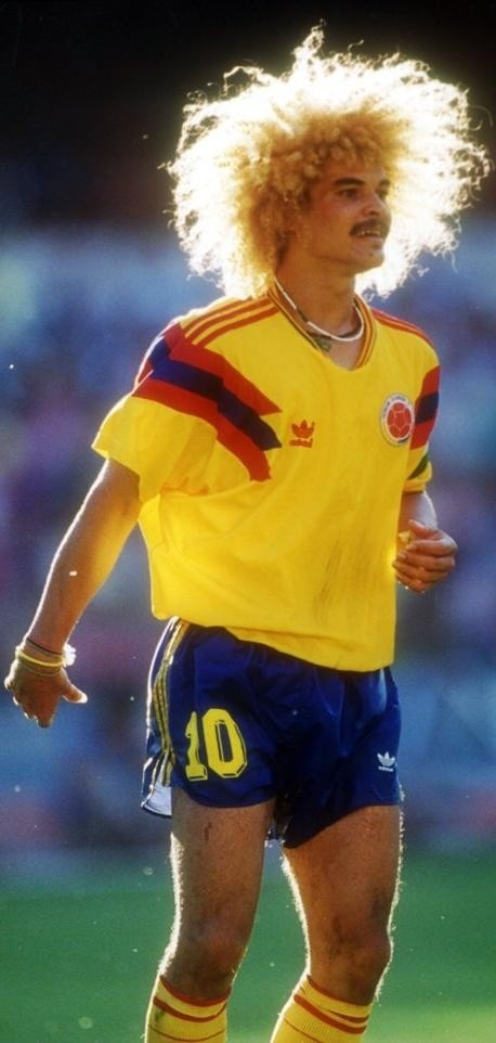WC Legend: Carlos Valderrama