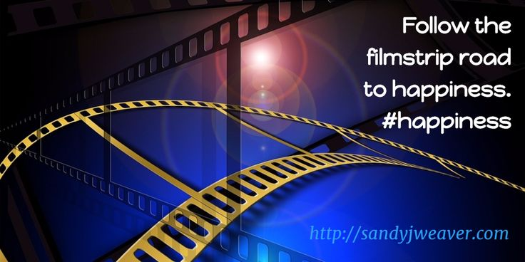 Follow the filmstrip road to happiness. #happiness
