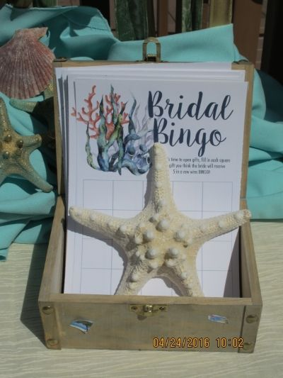 Destination Wedding Blog — Personal Touch Experience bridal shower, under the sea, mermaid, mermaid bride, mermaid bridal shower, under the sea shower for the bride to be, unique shower ideas, best bridal shower, best shower ideas, bridal shower games, bridal bingo, decor