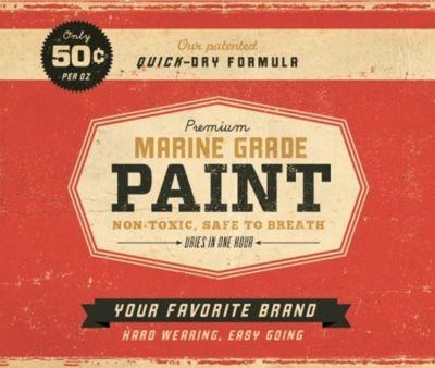 Vintage paint packaging.: Vintage Labels, Paintings Cans, Retro Design, Graphics Design, Vintage Design, Vintage Inspiration, Vintage Logos, Design Blog, Labels Design