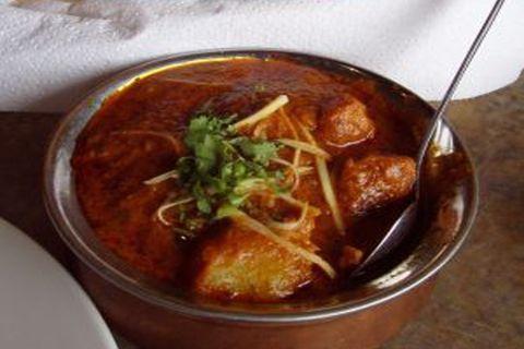 Готовое блюдо — Виндалу-карри с курицей