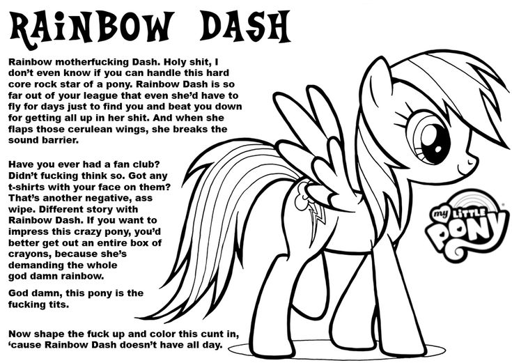 derpys coloring book page at least its not another pun projects to try pinterest rainbow dash coloring books and pony - My Little Pony Rainbow Dash Coloring Pages