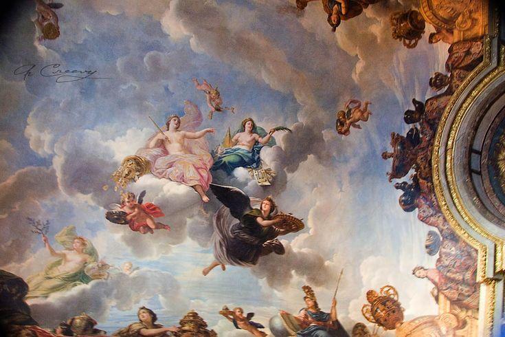 Versailles ceiling mural