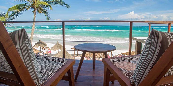 La Zebra Tulum Luxury Hotel Beach front