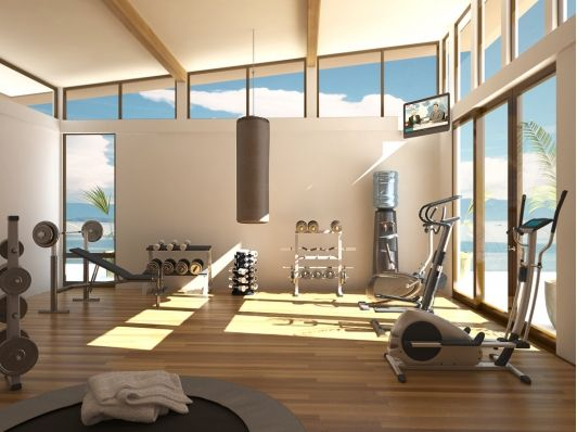 Delicieux Home Exercise Room Ideas Small Spaces Gym Design   Coolest Home Exercise  Room Ideas Small Spaces Gym Design, Interior Designs Alluring Home Workout  Room ...