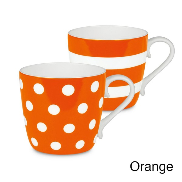 Orange Coffee Cups