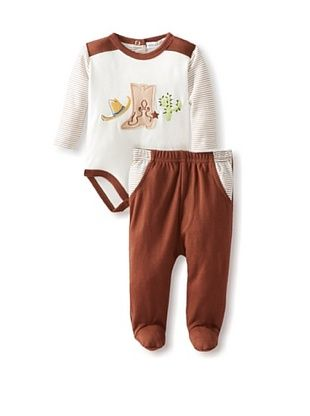 58% OFF Rumble Tumble Baby Pant Set (Brown)