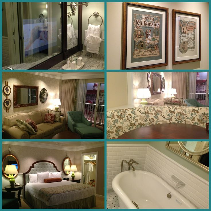 A Look At The Decor Of The Villas At Disney 39 S Grand Floridian Resort And Spa The Finishes And