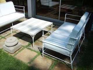 Muebles de fierro forjado para terraza todo hecho a mano andres gasman 84470000
