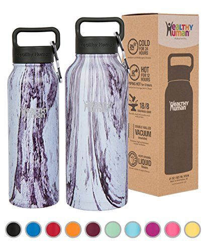 Healthy Human Insulated Water Bottle - Double Walled Sports Vacuum Thermos Wide Mouth Flask. Ideal for Women, Men & Kids - Orchid Driftwood - 32 oz #Healthy #Human #Insulated #Water #Bottle #Double #Walled #Sports #Vacuum #Thermos #Wide #Mouth #Flask. #Ideal #Women, #Kids #Orchid #Driftwood