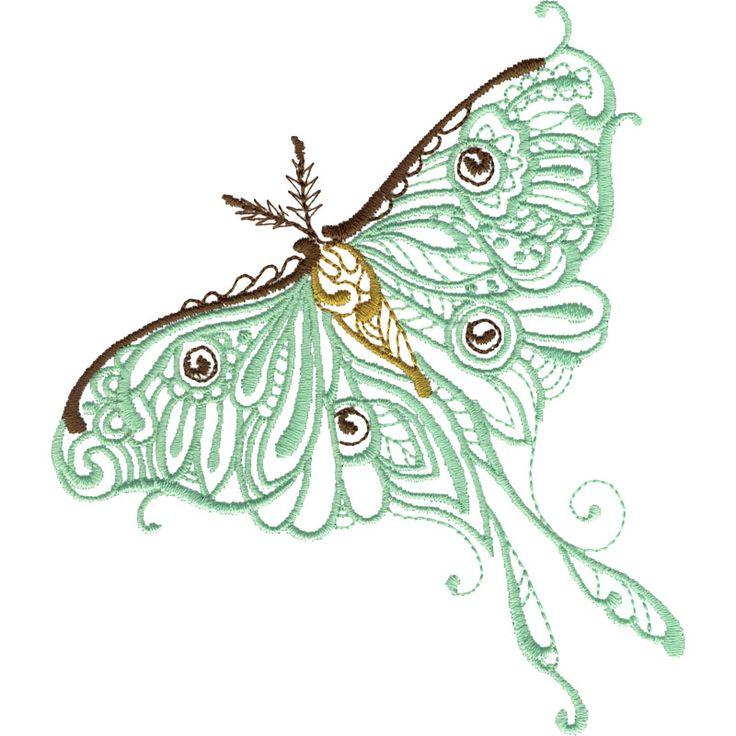 Luna Moth #WP420_48                                                       …